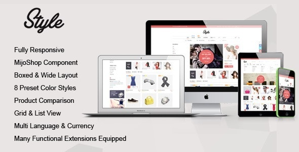 Style - Responsive Multipurpose MijoShop Template - Fashion Retail