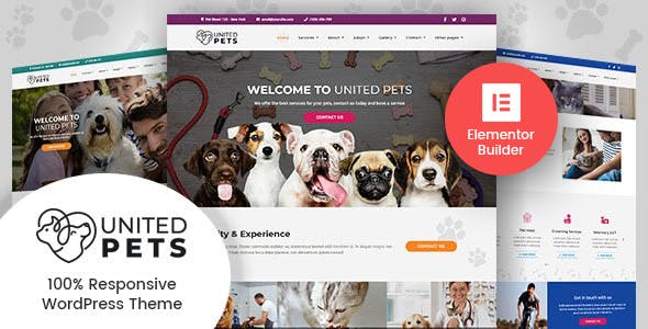 United Pets - Veterinary WordPress Theme nulled theme download