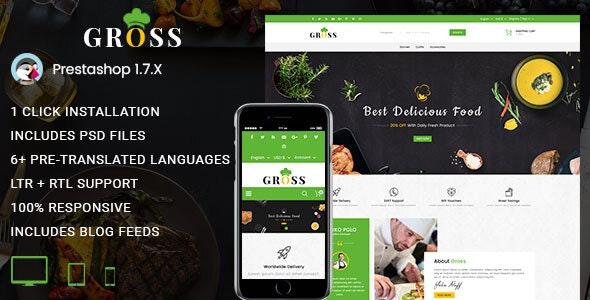 Gross - Multipurpose Prestashop 1.7 Responsive Theme - PrestaShop eCommerce