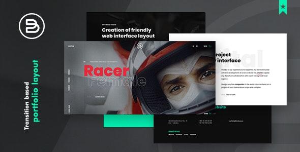 Brabus | Contemporary Portfolio for Agencies - Creative Site Templates