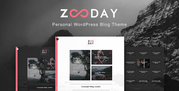 Zunday - Personal WordPress Blog Theme - Personal Blog / Magazine