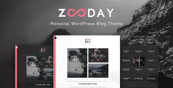 Zunday - Personal WordPress Blog Theme nulled theme download