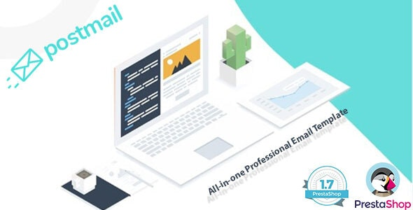 Leo Postmail Professional Email Template for any E-commerce PrestaShop - Email Templates Marketing