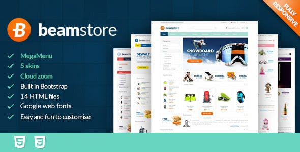 BeamStore - Premium React Ecommerce Template nulled theme download