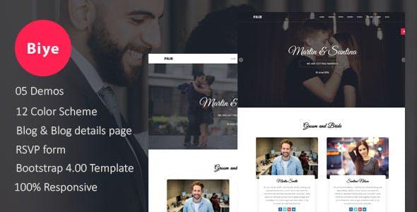 Download Biye - Wedding HTML5 Template