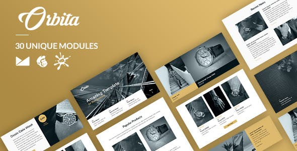 Orbita Email-Template + Online Builder nulled theme download
