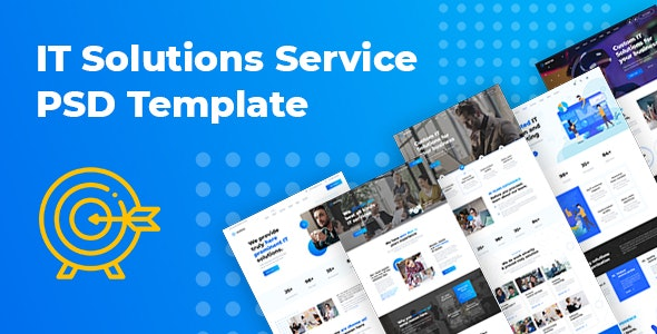 Murtes - IT Solutions and Services Company PSD Template - Business Corporate