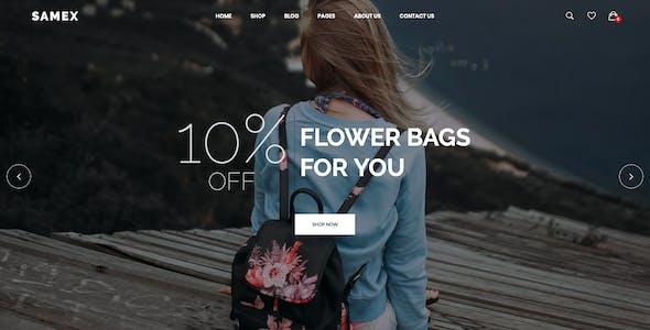 Samex - Clean, Minimal Shop WooCommerce WordPress Theme