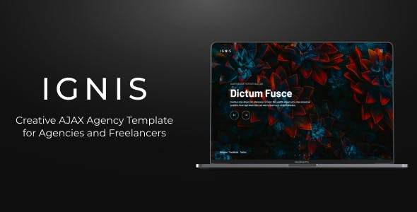 IGNIS - Creative AJAX Agency Template nulled theme download