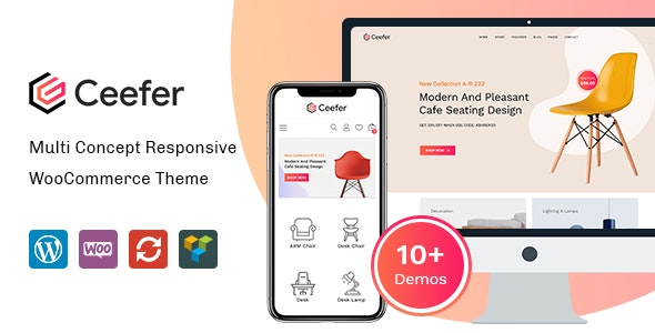 Ceefer - Creative WooCommerce Theme - WooCommerce eCommerce