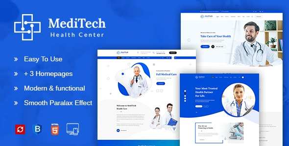 Meditech - Health & Medical HTML Template - Health & Beauty Retail