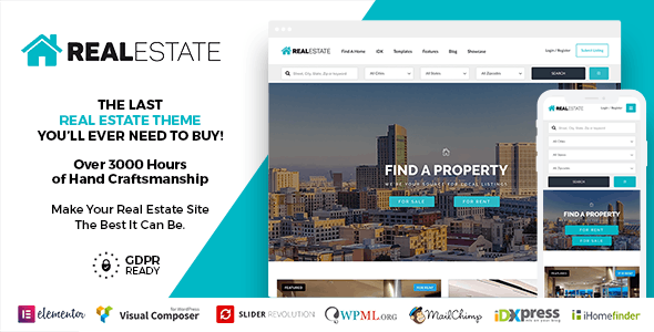 RE7 - Real Estate WordPress Theme - Real Estate WordPress