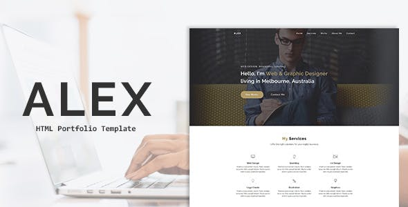 ALEX - Creative Portfolio HTML Template nulled theme download