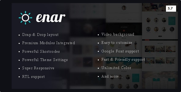 Enar - Multipurpose Drupal 8 7 Theme by innovation_theme