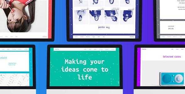 Axala – Creative Studio Portfolio Template - Creative Site Templates