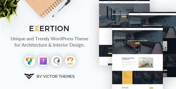 Exertion Theme Preview