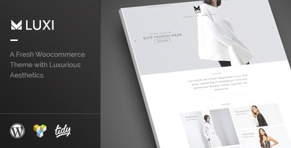 Luxi - Luxury Elegant WooCommerce WordPress Theme - WooCommerce eCommerce