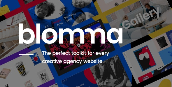 Blomma - Creative Agency Portfolio Theme - Portfolio Creative
