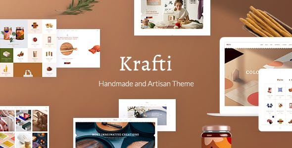 Krafti - Arts & Crafts WordPress Theme