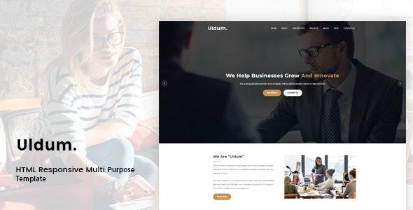 Uldum - HTML Responsive Multi-Purpose Template by LuckNow-Theme