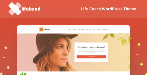 Lifeband - Life Coach WordPress Theme - Health & Beauty Retail