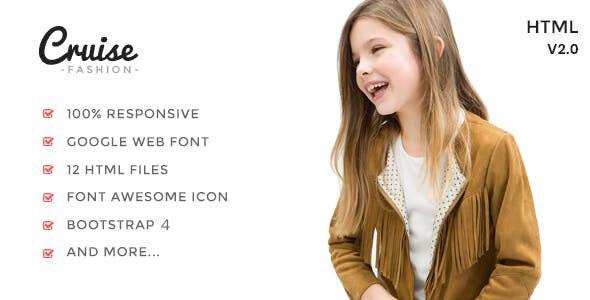Cruise - Fashion Store HTML Template - Fashion Retail