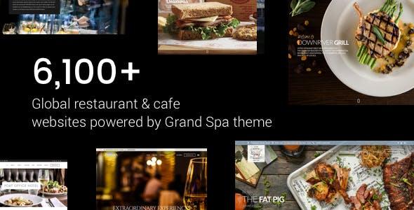 WordPress Restaurant & Cafe Themes from ThemeForest