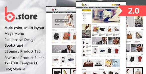 Fashion Store HTML Template - BStore - Fashion Retail