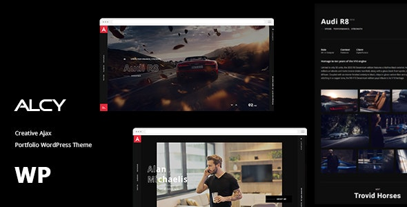Alcy -Creative Ajax Portfolio WordPress Theme - Portfolio Creative
