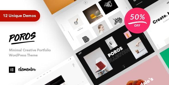 Poros - Business Portfolio WordPress Theme - Creative WordPress