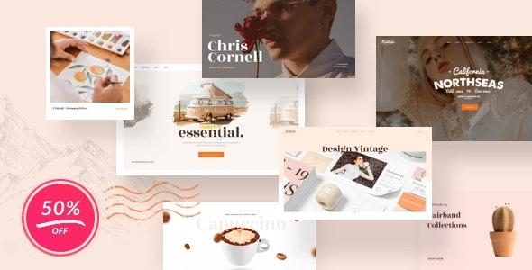 Vintage Retrolie - Retro Multipurpose WordPress Theme - Creative WordPress