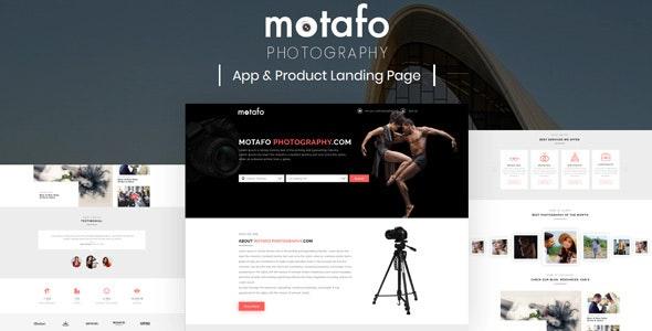 Motafo – Photography Sketch Template - Sketch Templates