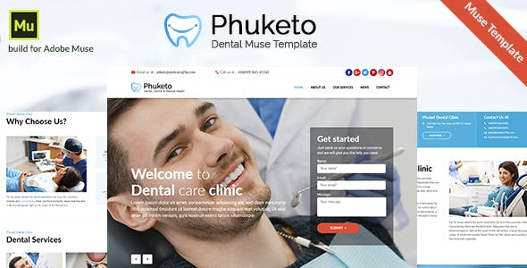 Download Phuketo - Dental Muse Template