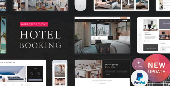 Hotel Booking by nicdark | ThemeForest