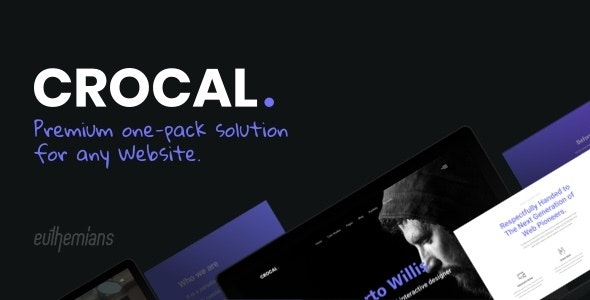 Crocal - Responsive Multi-Purpose WordPress Theme by