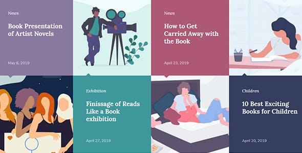 Printpress -  Book Publishing WordPress Theme