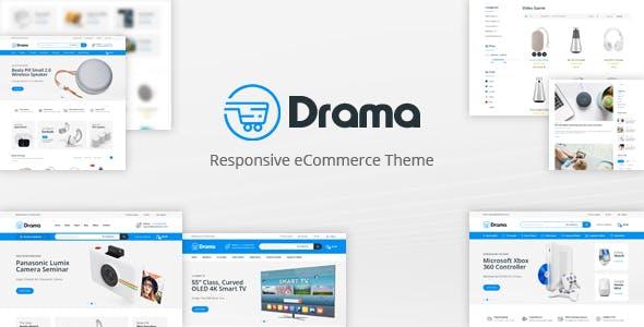 Drama - Responsive Prestashop Theme