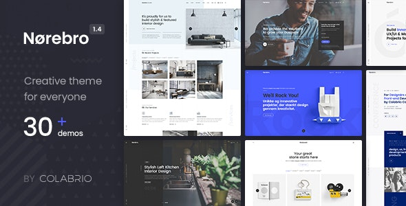 Norebro - Creative Portfolio Theme for Multipurpose Usage - Portfolio Creative