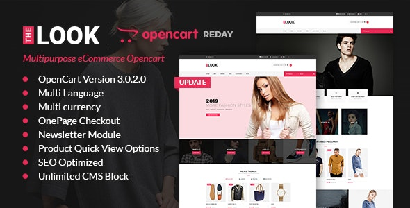 The Look - Responsive Multipurpose Opencart 3 Theme - Fashion OpenCart