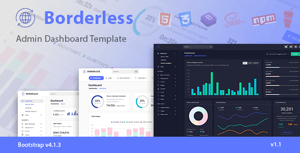 Generator HTML Admin Website Templates from ThemeForest