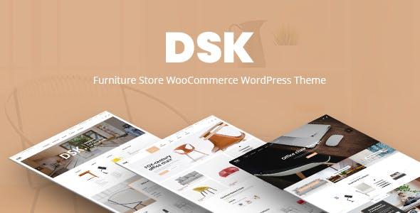 DSK - Furniture Store WooCommerce WordPress Theme
