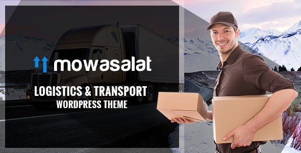 Mowasalat - Logistic and Transports WP Theme - Business Corporate