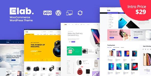 eLab - Electronics Shop WordPress Theme - WooCommerce eCommerce