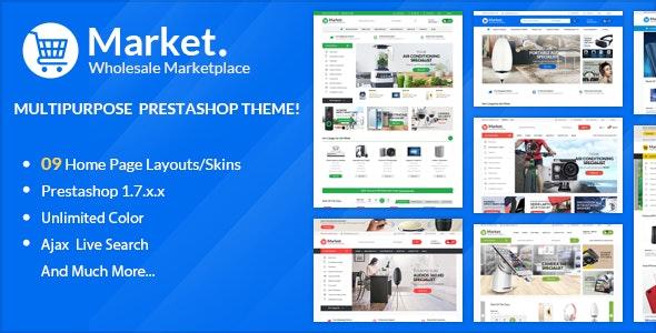 Themes Market  Responsive Prestashop 1.7 - Technology PrestaShop