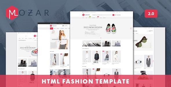 Mozar - Fashion Clothing Shop eCommerce HTML Template - Fashion Retail