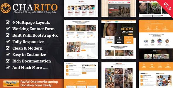 Charito - NonProfit HTML