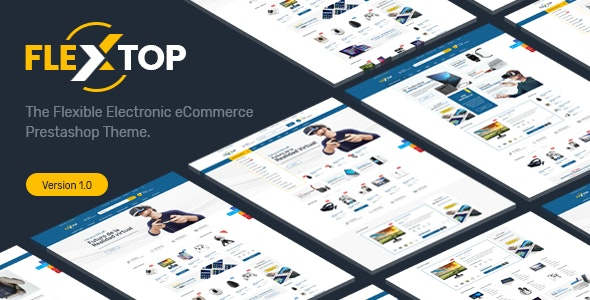 Flextop Responsive Prestashop 1.7$1.6 Theme - Technology PrestaShop