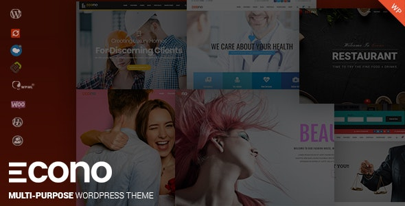 Econo - Creative MultiPurpose WordPress Theme - Corporate WordPress