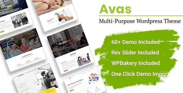 Avas | Multi-Purpose WordPress Theme - Business Corporate