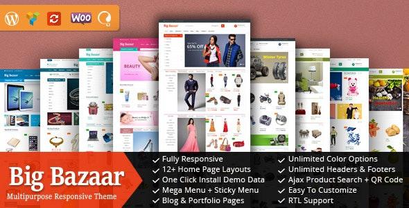 BigBazaar - Responsive WooCommerce WordPress Theme - WooCommerce eCommerce